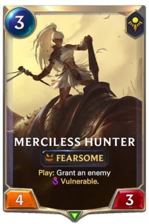 Merciless Hunter (LoR reveal)