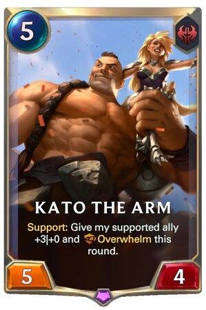 Kato The Arm (LoR Card)