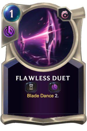 Flawless Duet (LoR Card)