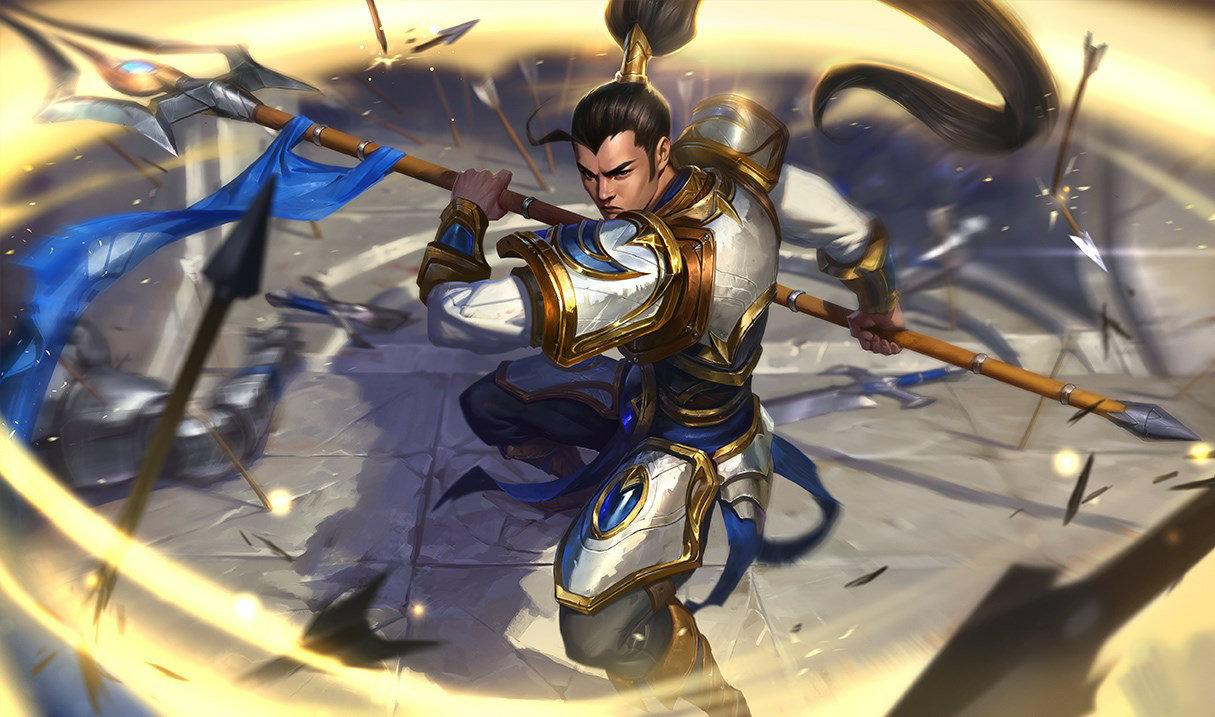 Xin Zhao Wild Rift Splashart