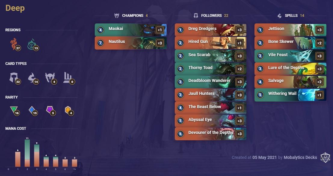 Deep (LoR deck 5-5)