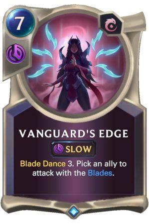 Vanguard's Edge (LoR Card)