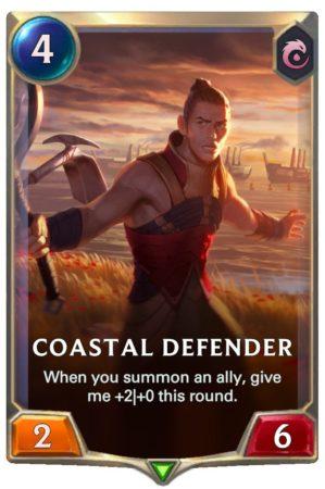 Coastal Defender (LoR Card)