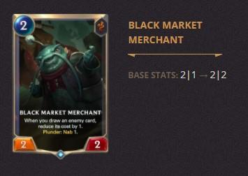 Black Market Merchant Patch 2.11 (LoR)