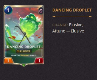 Dancing Droplet Patch 2.11 (LoR)