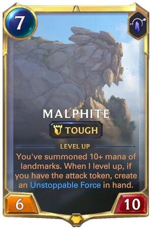 Malphite level 1 (LoR Card)