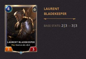 Laurent Bladekeeper Patch 2.11 (LoR)