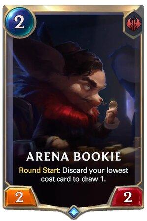 Arena Bookie (LoR Card)