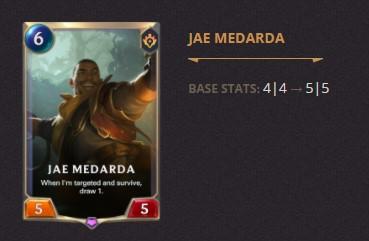 Jae Medarda Patch 2.11 (LoR)