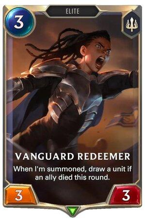 Vanguard Redeemer (LoR Card)