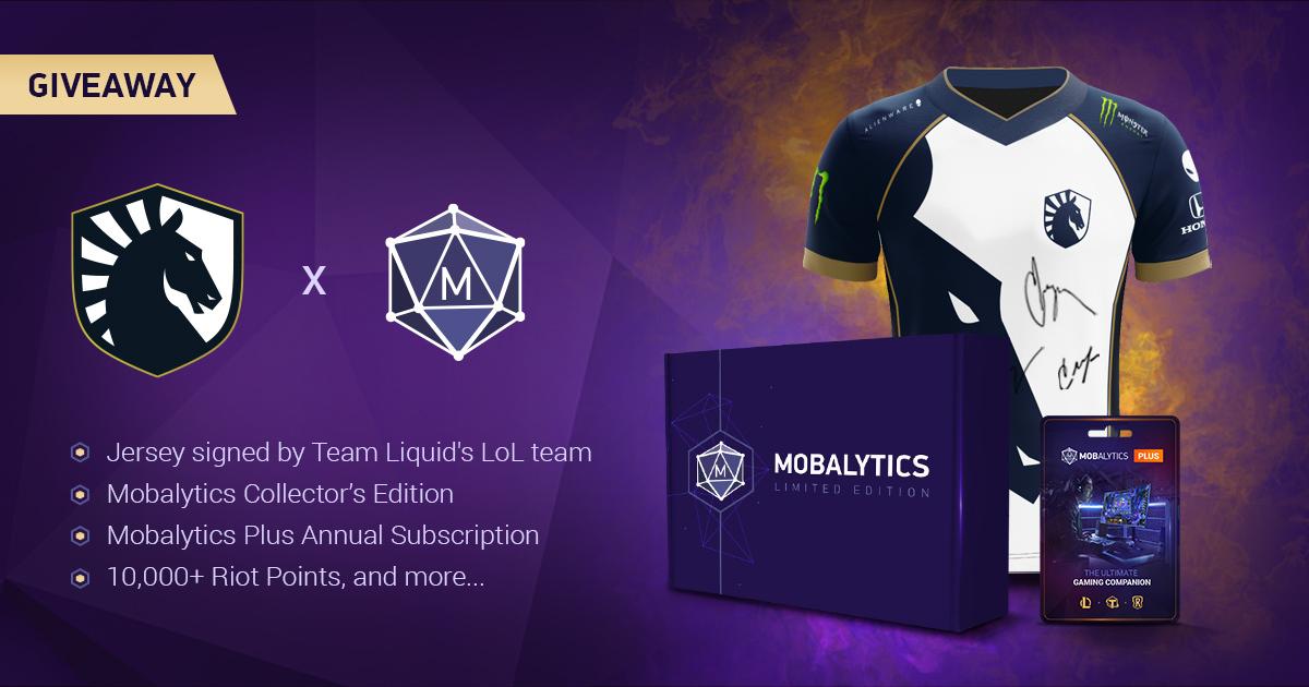 Team Liquid x Mobalytics Giveaway