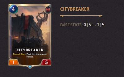 Citybreaker Patch 2.11 (LoR)