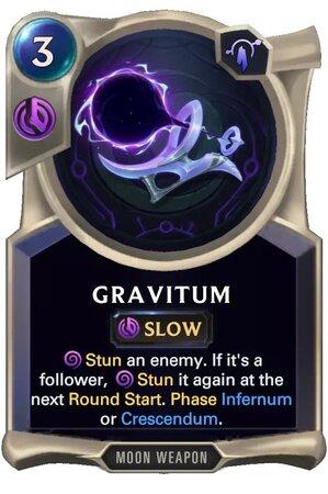 Gravitum (LoR Card)