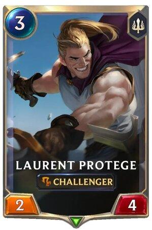 Laurent Protege (LoR Card)