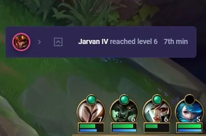 Jarvan IV notification