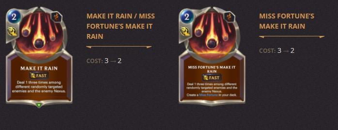 Make It Rain Patch 2.11 (LoR)