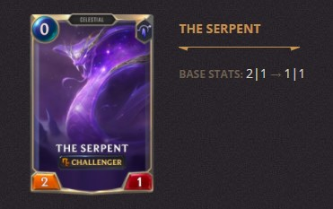 The Serpent Patch 2.11 (LoR)