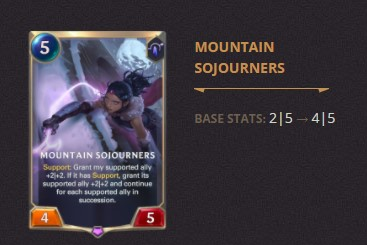 Mountain Sojourners Patch 2.11 (LoR)