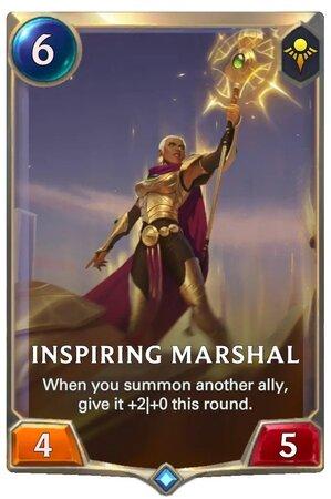 Inspiring Marshal (LoR Card)