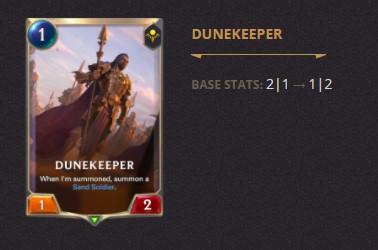 Dunekeeper Patch 2.11 (LoR)