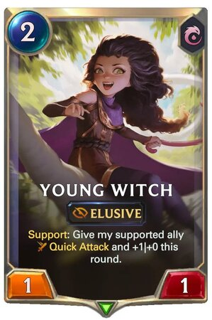 Young Witch (LoR Card)