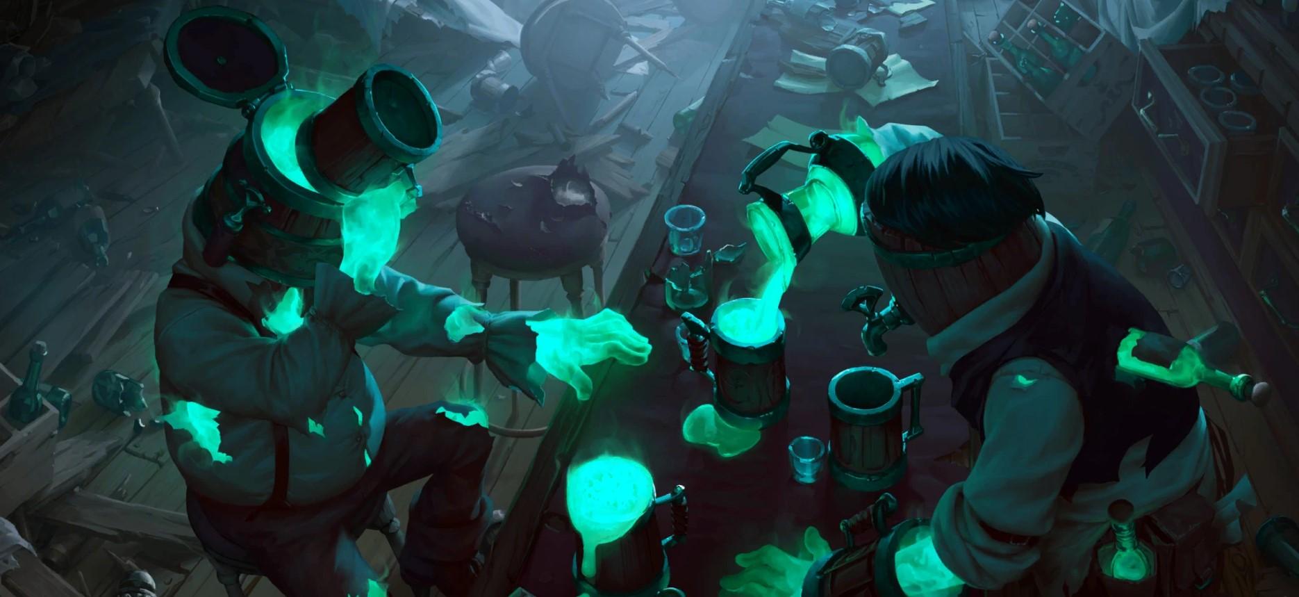 Stirred Spirits (LoR splash)