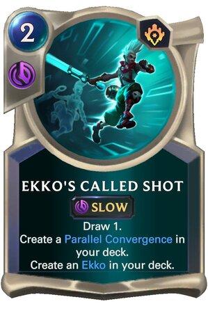 Ekko's Called Shot (LoR Card)