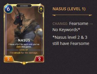 Nasus Patch 2.11 (LoR)