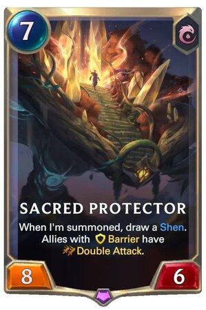 Sacred Protector (LoR Card)