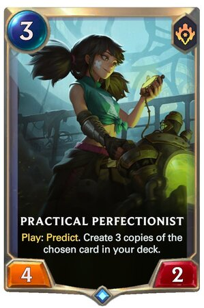 Practical Perfectionist (LoR Card)