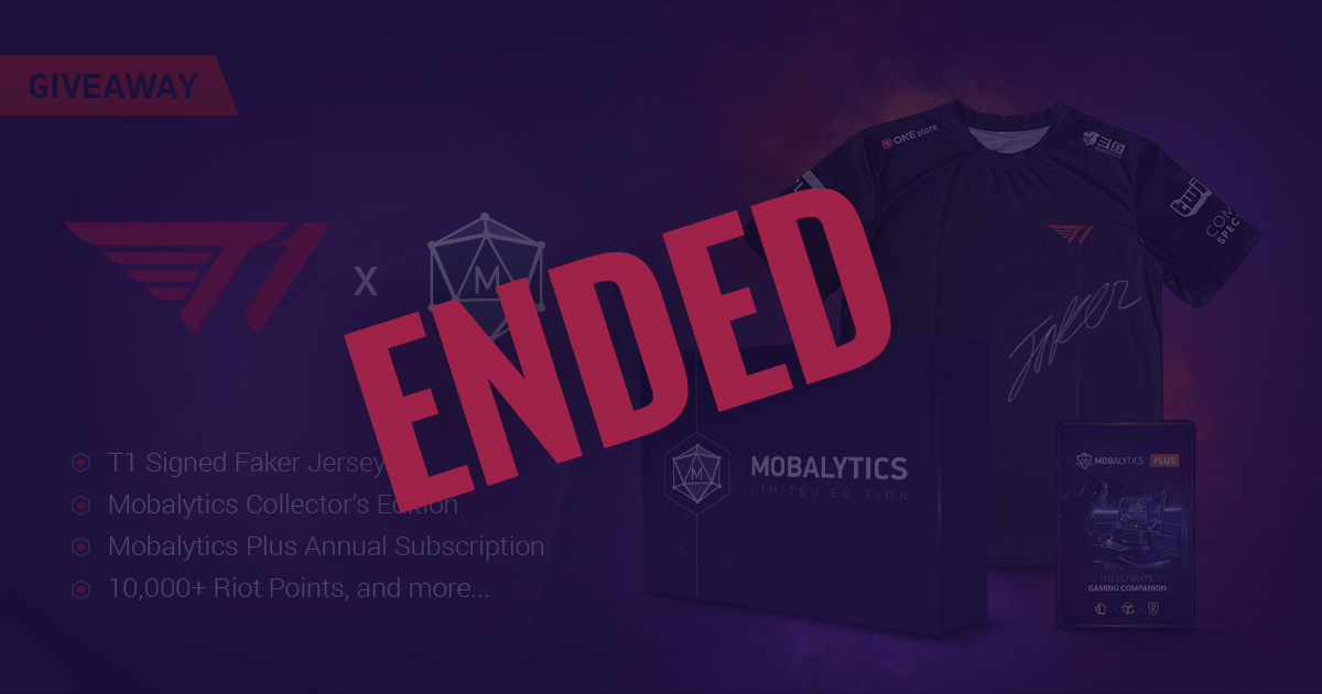 T1 x Mobalytics Giveaway