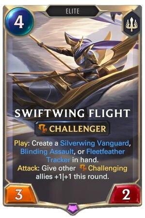 Swiftwing Flight (LoR Card)