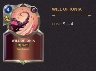 Will of Ionia Patch 2.11 (LoR)