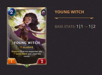 Young Witch Patch 2.11 (LoR)