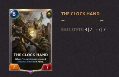 The Clock Hand Patch 2.11 (LoR)