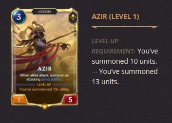 Azir Patch 2.11 (LoR)