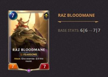 Raz Bloodmane Patch 2.11 (LoR)