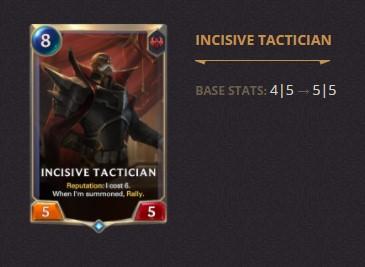Incisive Tactician Patch 2.11 (LoR)