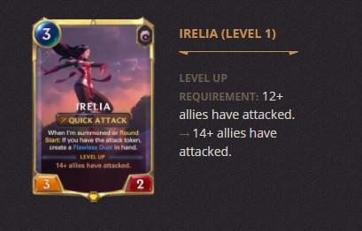 Irelia Patch 2.11 (LoR)
