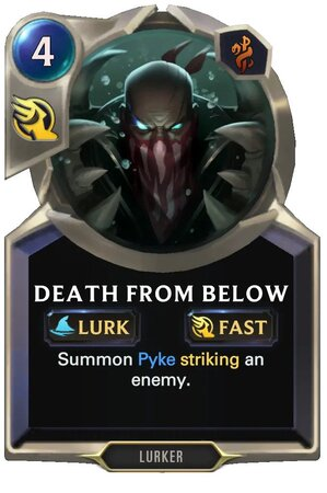 Death From Below (LoR Card)
