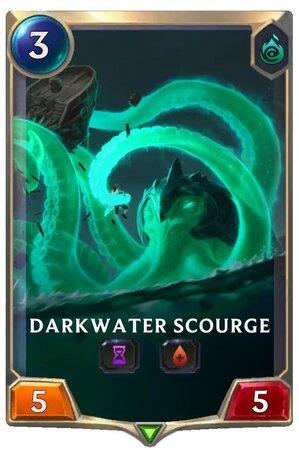 Darkwater Scourge (LoR Card)