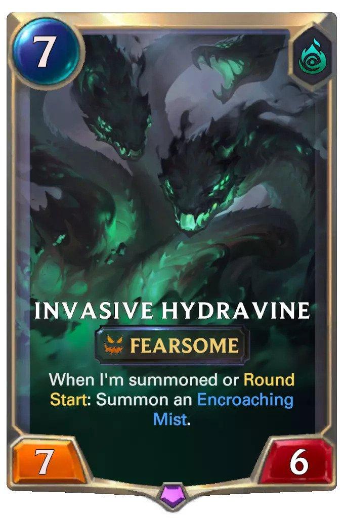 Invasive Hydravine (LoR card)