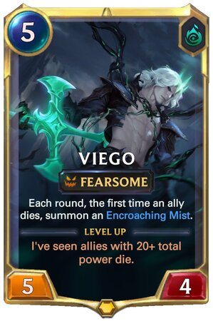 Viego level 1 (LoR Card)