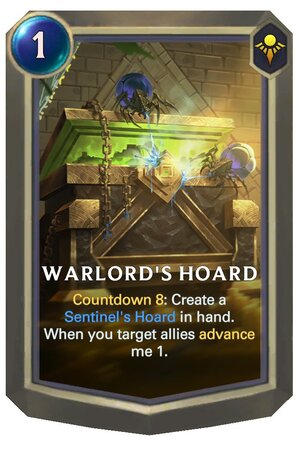 Warlord's Hoard (LoR Card)