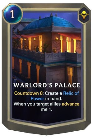 Warlord's Palace (LoR Card)