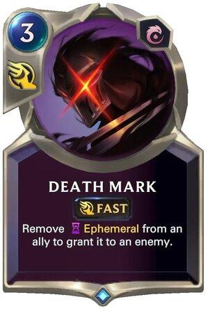 Death Mark (LoR Card)