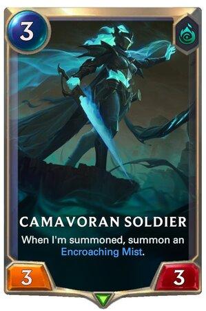 Camavoran Soldier (LoR Card)