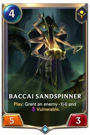 Baccai Sandspinner (LoR Card)