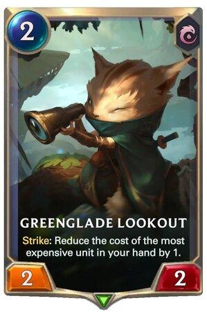 Greenglade Lookout (LoR Card)