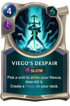 Viego's Despair (LoR Card)